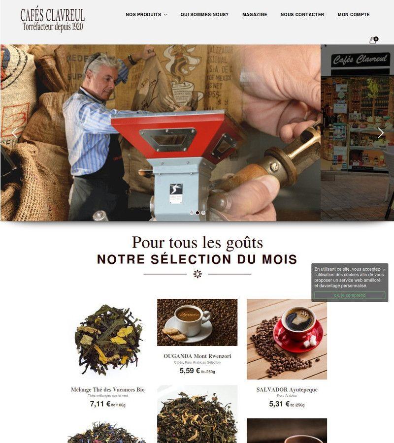 image de la page d'accueil pour commerce