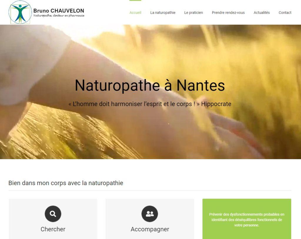 image de la page d'accueil du site naturopathe-chauvelon.fr