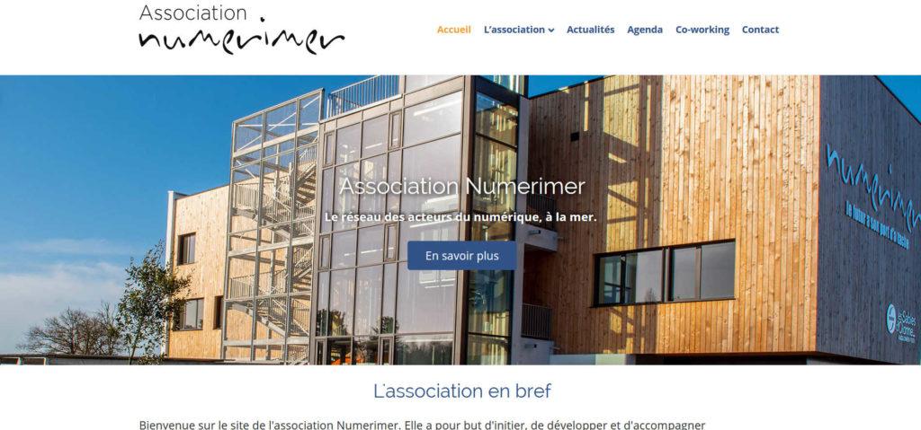image de la page d'accueil asso.numerimer.fr